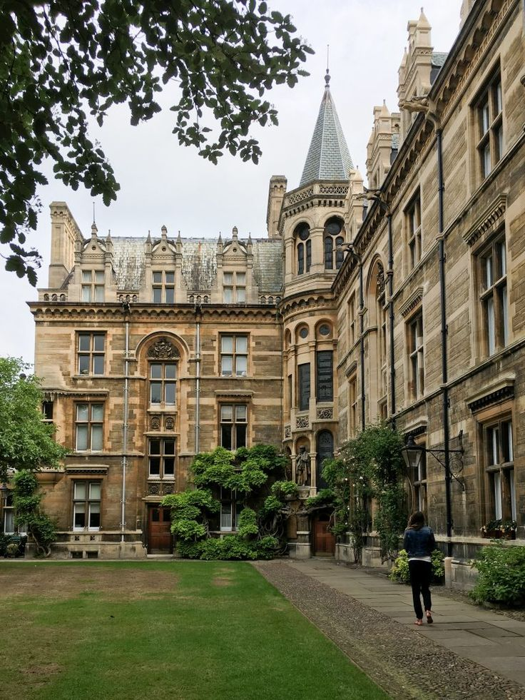 Gonville and Caius College at Cambridge University, England | Each college has…