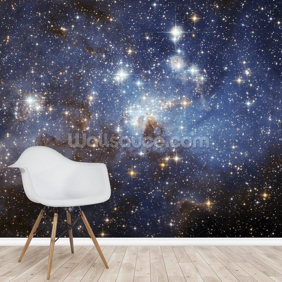 Lh 95 In The Large Magellanic Cloud Mural Wallsauce Uk Mural Wallpaper Room Wall Painting Baby Room Inspiration