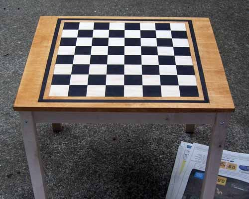 1000 Ideas About Checkerboard Table On Pinterest Chess