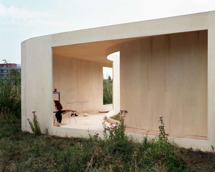 Anne Holtrop, Netherlands:  Trail House