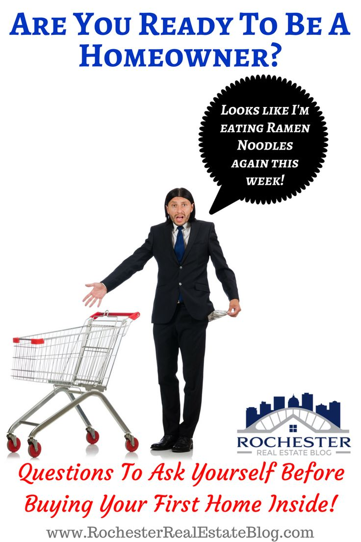 Questions To Ask Yourself Before Buying Your First Home - Are You Ready To Be A Homeowner? https://www.rochesterrealestateblog.com/questions-ask-before-buying-first-home/ via @KyleHiscockRE