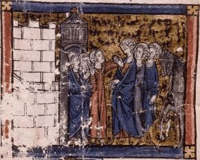 Lancelot is entirely the creation of Chretien de Troyes and does not appear in the earlier chronicles. Lancelot first appears in his The Knight of the Cart, written in the late 1100s.  (The online text of Lancelot, or The Knight of the Cart by Chretien de Troyes.)
