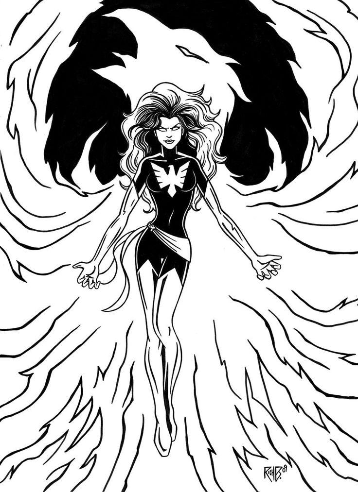 Dark phoenix by richbernatovech