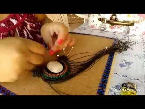 COLLAR DE MACRAME - YouTube