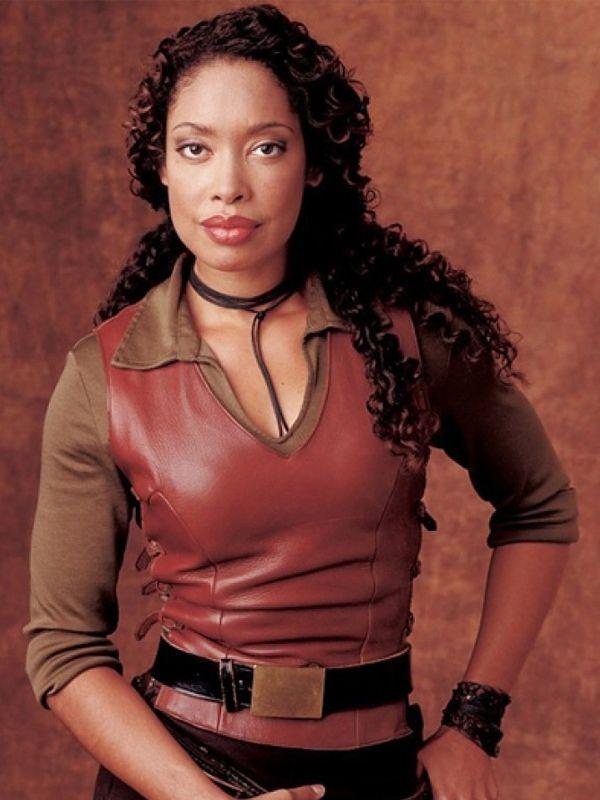 Gina Torres Firefly TV Series Zoe Washburne Leather Vest