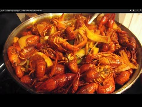 ▶ Black Cooking Swagg 5 : Neworleans Live Crawfish - YouTube