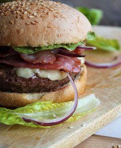 Burger au bacon
