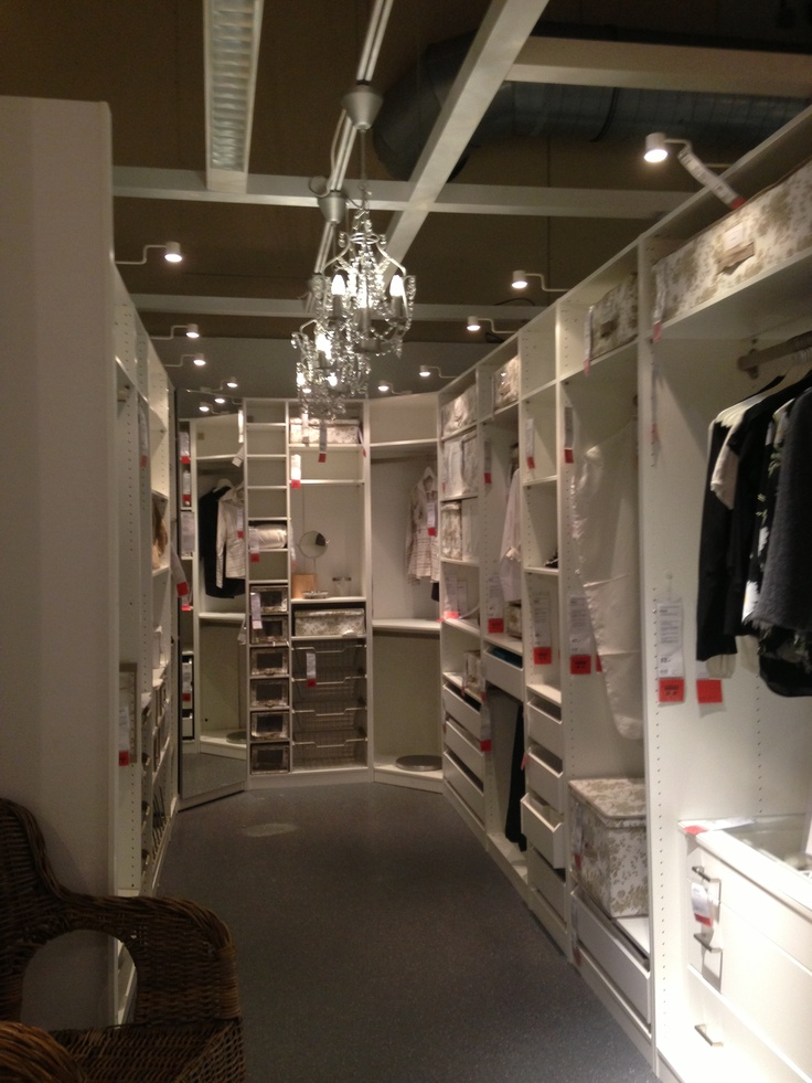 Ladies' Walk-in Closet..nothing like taking a stroll in your walk-in closet!