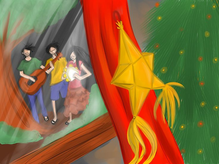 Paskong pinoy by on deviantart