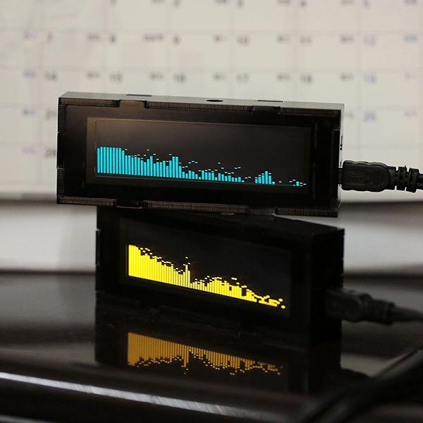3d Spectrum Analyzer Uses 1280 Leds Spectrum Analyzer Spectrum