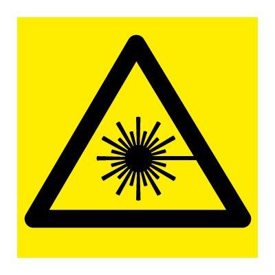 Laserstråling - Fareskilt