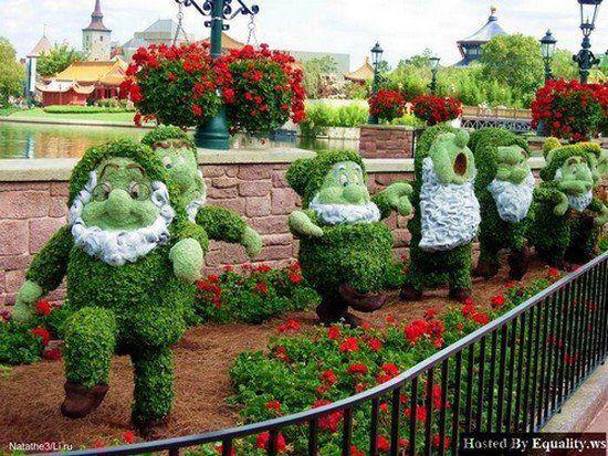 "Snow ""Green"" and the 7 Dwarfs,beautifful !!"