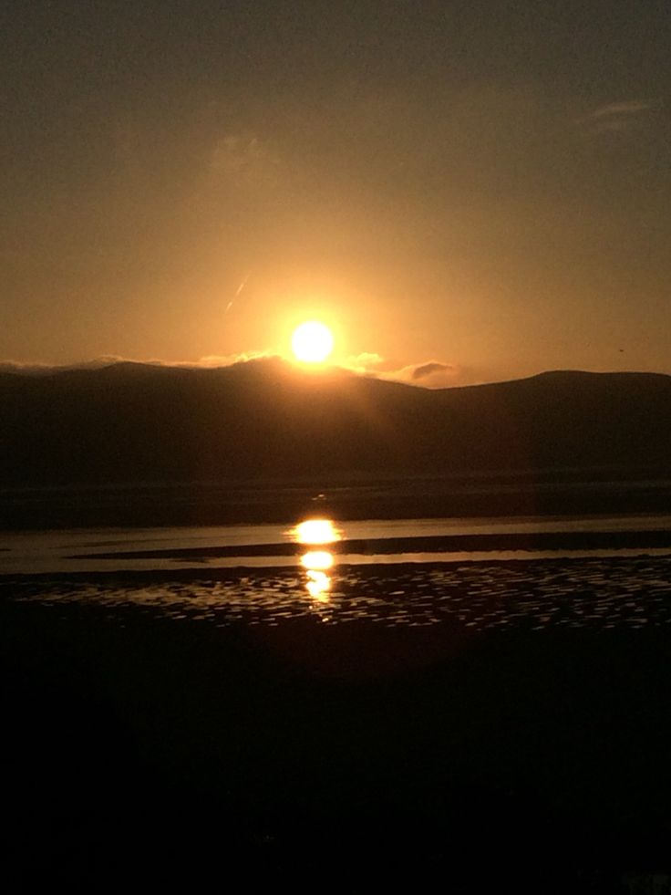 Sunrise in Aberdovey, Wales
