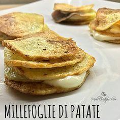 Volete un contorno d'effetto e sfizioso? La millefoglie di patate è sicuramente la ricetta che fa per voi, scenografica, semplice da realizzare e tanto ...
