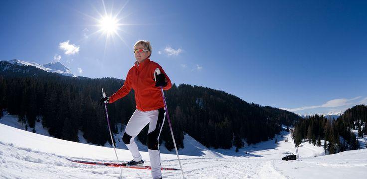 #Langlaufen #Schnee #tiroleroberland