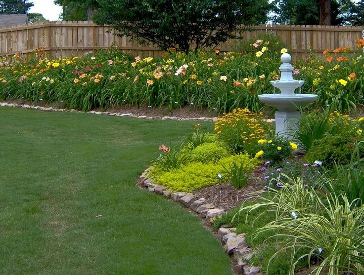 day lily garden ideas | Daylily garden - so easy to grow!