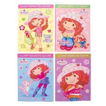 4 Strawberry Shortcake Color And Activity Books Assorted Titles By American Greetings 1595