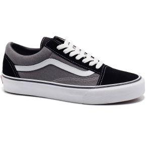 vans old skool black grey