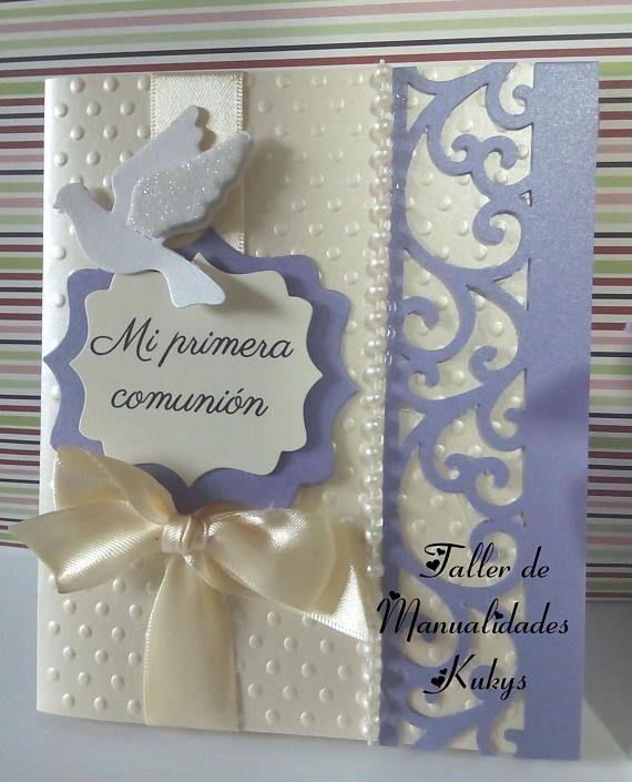 invitaciones primera comunión