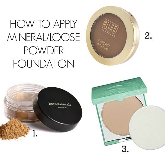 "How to apply powder foundation - should I use a brush or a sponge? Check out ""I'm Just Saying"" to find out how."
