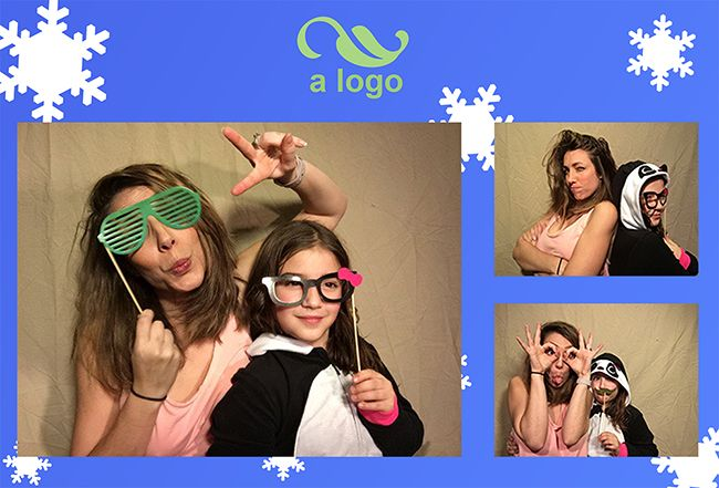 PG Booth, the best diy ipad photo booth app for parties and weddings, photo strip example oh what you can do when you play with all the settings!