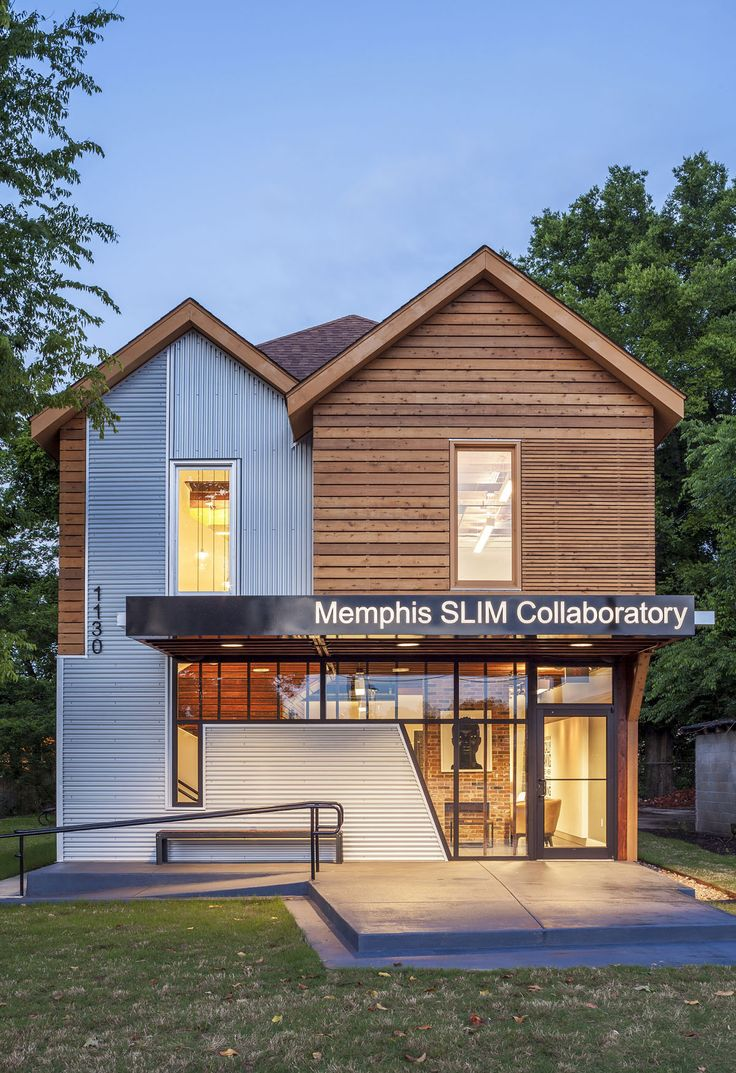 Memphis Slim Collaboratory by brg3s Architects 1 Famed Blues Artist Inspires Success Against All Odds: Memphis Slim Collaboratory