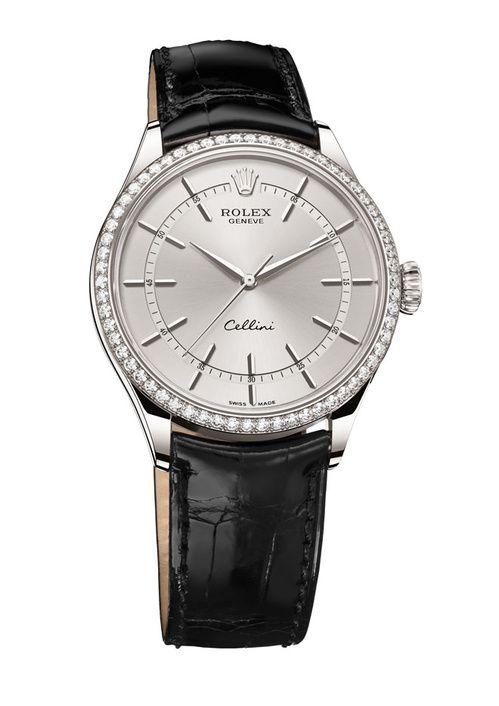 Cannes 2015: la montre Cellini Time en diamants de Rolex