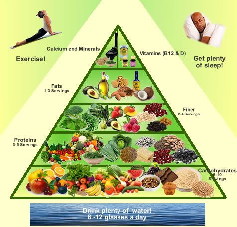 gerson pyramid | Vegan Diet | Welcome to BetterLivingWithReiki.com
