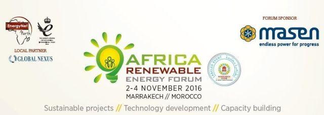 En colaboración con Global Nexus IRESEN ONEE y el Departmento de Energia de South Africa EnergyNet presenta Africa Renewable Energy Forum (ARF) del 2-4 Noviembre 2016 en el hotel Four Seasons Resort en Marrakech   LONDRES Octubre 2016 /PRNewswire/ -Celebrada bajo los auspicios de la Conferencia sobre el Cambio Climático COP22 de las Naciones Unidas ARF tiene como objetivo utilizar los resultados de la COP21 y COP22 como un trampolín para la continuación de inversión y el crecimiento de…