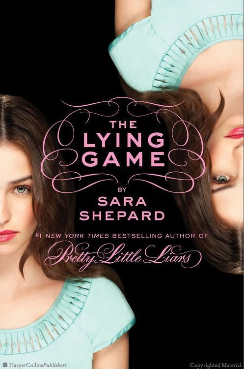 The Lying Game by Sara Shepard (aww this is such a good book and was a great TV show until they cancelled it!!)