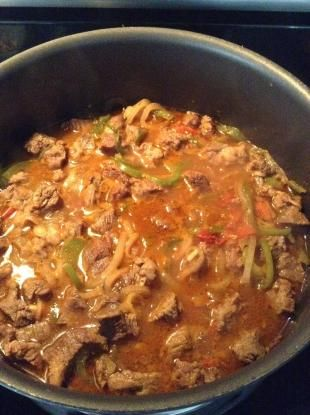 Carne Guisada San Antonio Style
