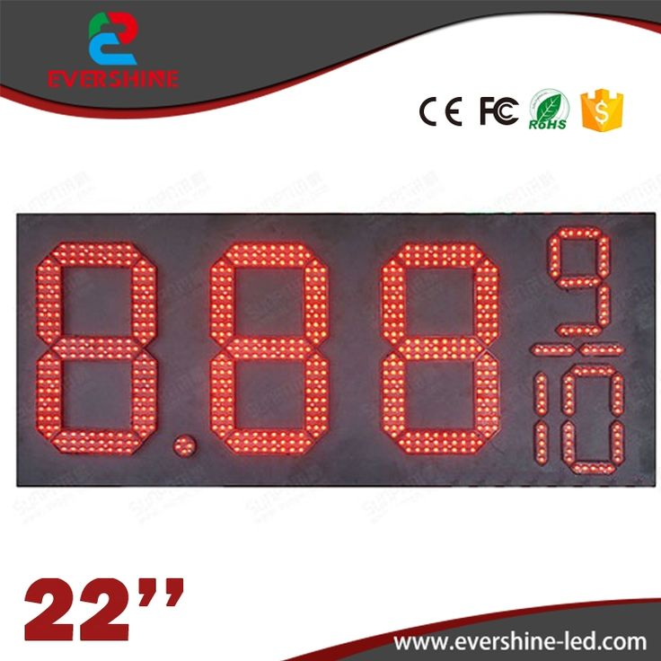 360.00$  Watch now - http://alid3r.worldwells.pw/go.php?t=32762039359 - 22'' 8889/10 led outdoor waterproof IP66 led gas station price signs board oil price display led gas petrol price oil gas  360.00$