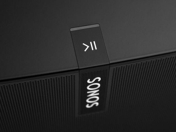 Sonos, display, button, plastic, black, transparent