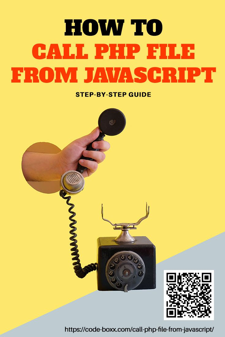 Tutorial - How to call PHP file from Javascript #php