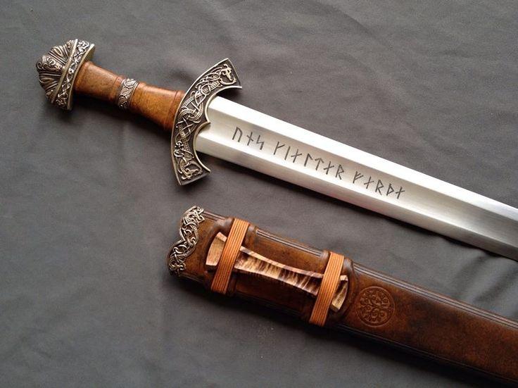 "Viking Sword ""Shieldmaiden"" by Christian Fletcher. http ..."