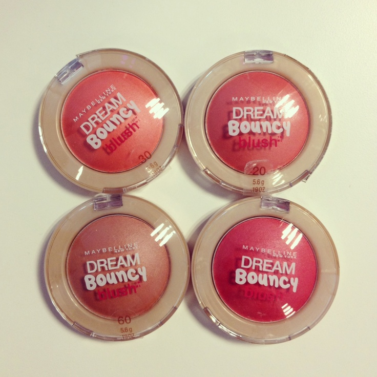 ¡Para darle un toque de color a tus mejillas... DREAM BOUNCY BLUSH!