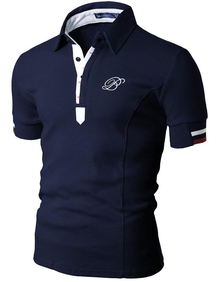 Casual Short Sleeve Polo Shirt