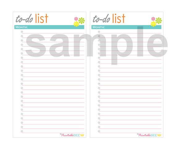 Hey, I found this really awesome Etsy listing at https://www.etsy.com/listing/237390644/printable-to-do-list-instant-download