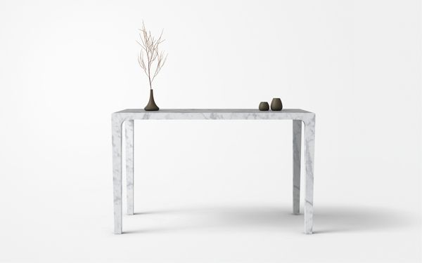 Marble Furniture - Table by François Hurtaud