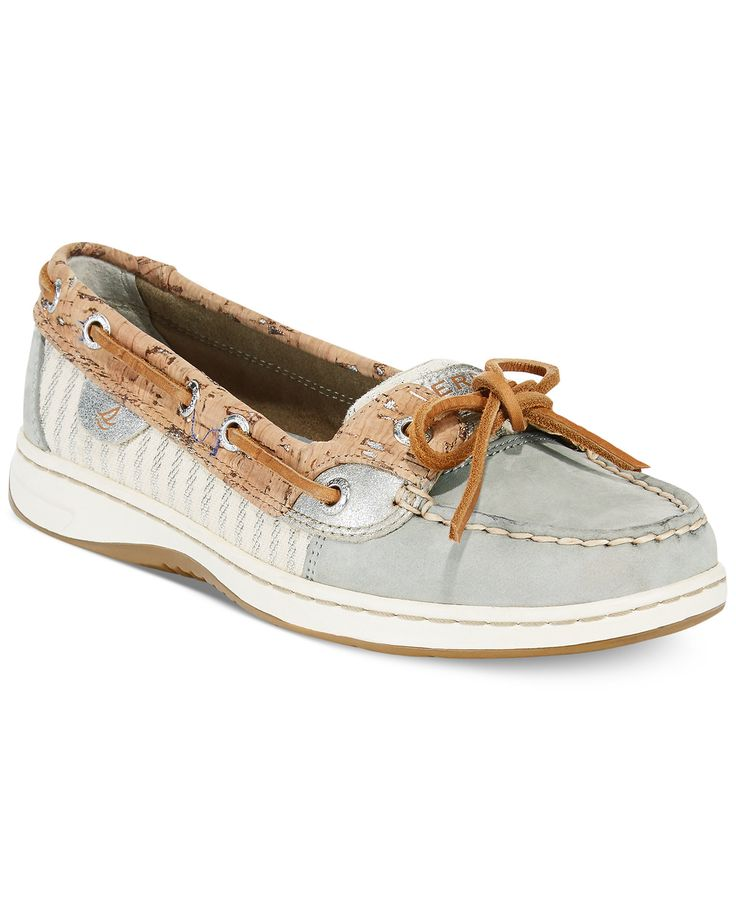Sperry Women's Angelfish Cork Boat Shoes - Flats - Shoes - Macy's