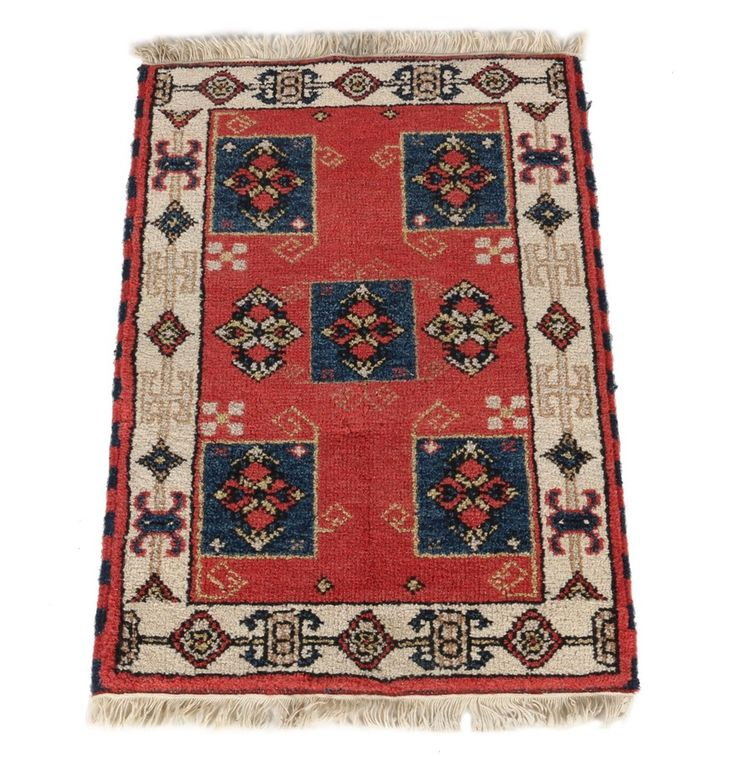 handwoven anatolian accent rug