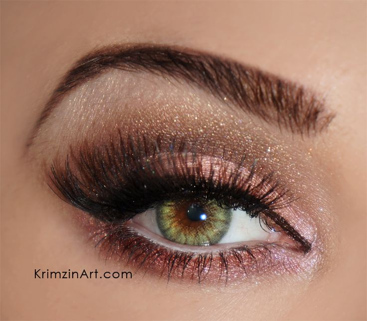 Contacts: Desio Forest Green - Pink Chocolate VIDEO TUTORIAL #eye #color #contacts