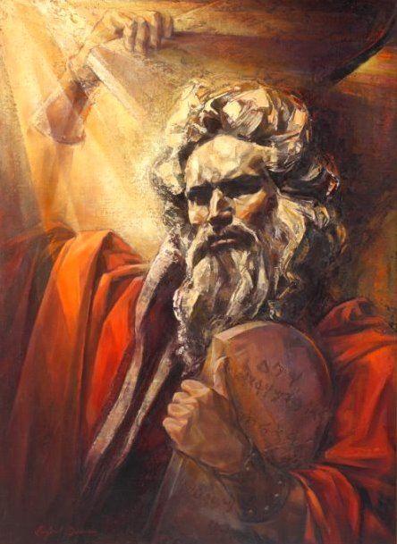 The Ten Commandments by Linford Donovan