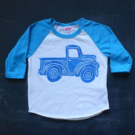 Little blue truck tee