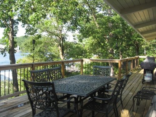 Oversized Wrap Around Deck