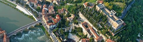 AUSTRIAN VERONA: Forts, walls, and wonderful bastions are the elements you can find today of the Austrian domain in Verona. They are mixed with buildings of other eras, but they shine in all their grandeur.