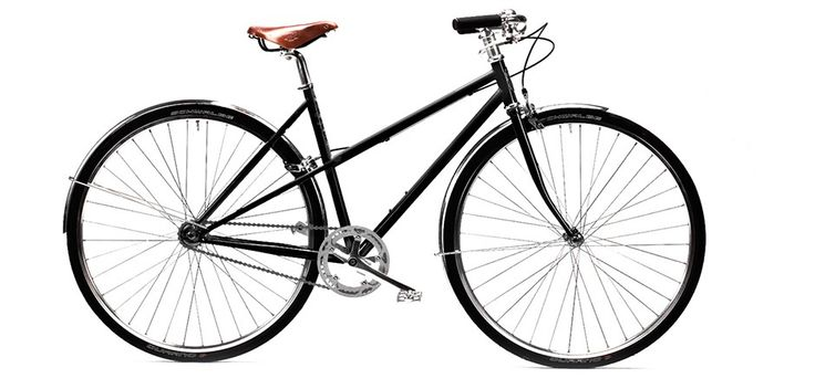 Black Single-Speed Capri Bike by Pelago Bicycles | MONOQI