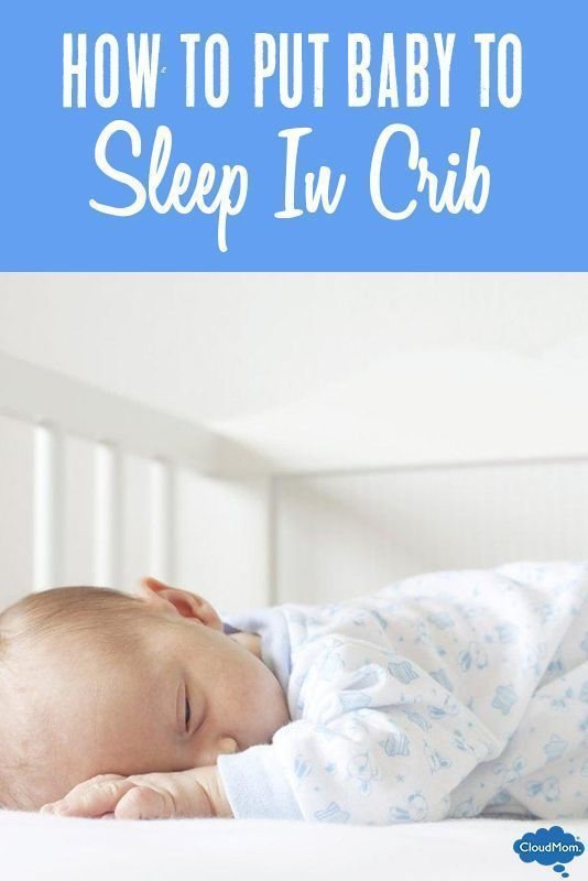 how to get baby to put self to sleep