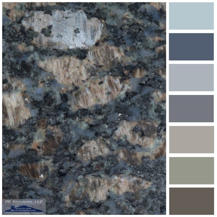Sapphire Blue Granite Blue Granite Brown Granite