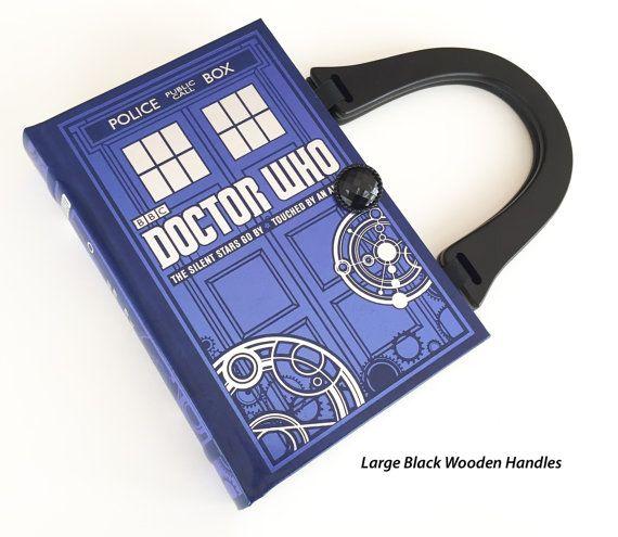 Doctor Who boek portemonnee  politie oproep vak door NovelCreations